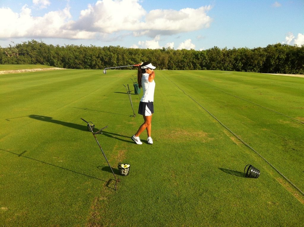 golf quand on est une femme