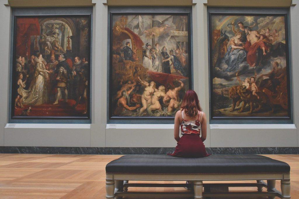 découverte galerie art