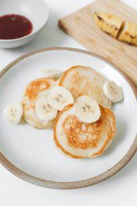 préparez de délicieux pancake avec ma recette avocat banane bébé
