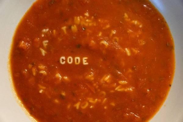 soupe tomate bébé pate alphabet au babycook